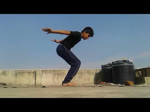 How to backflip teach by junior tiger shroff