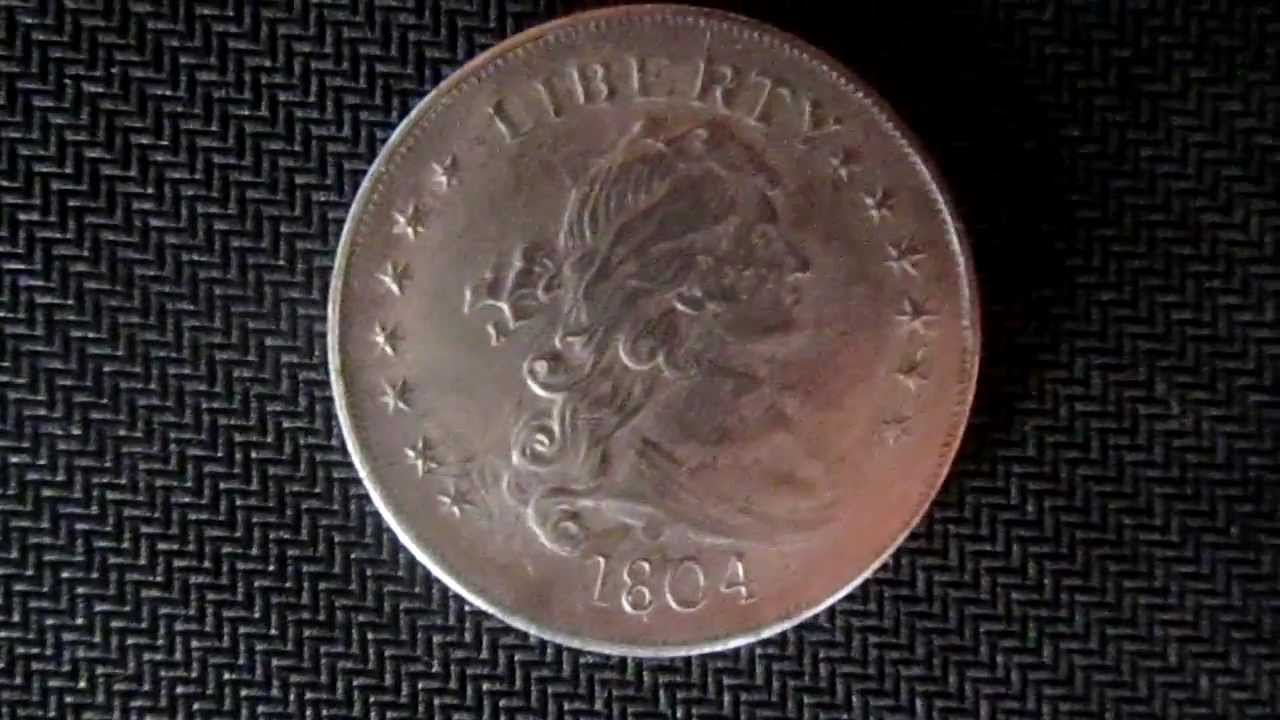 1804 Silver Dollar Youtube