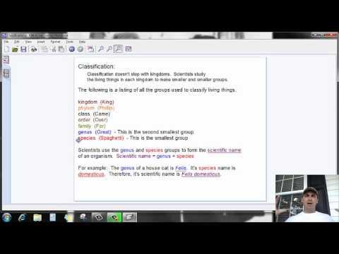 Video 3 Classification Part 3