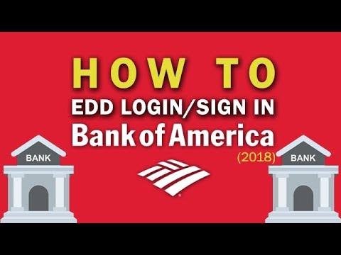 b of a edd login