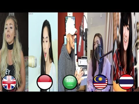 5 Best Cover in the World - Ed Sheeran - Perfect (malaysia,thailand,indonesia,inggris,arabian)