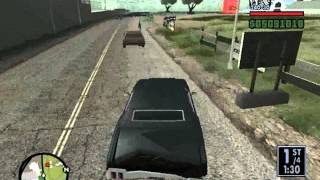 GTA SA - Race #1 - Skyz_Gold