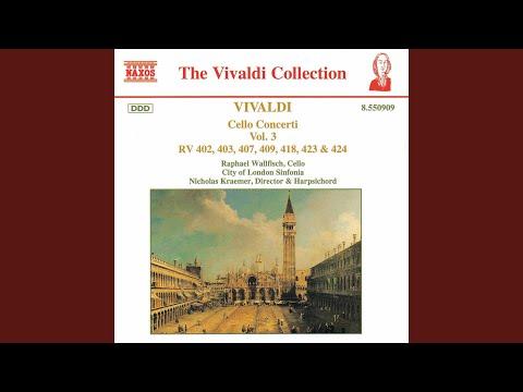 Cello Concerto in C Minor, RV 402: I. Allegro