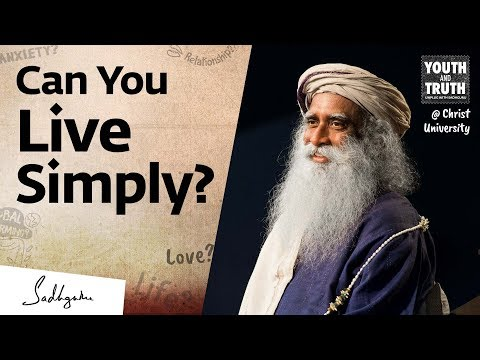 How To Simplify & Declutter Your Life – Sadhguru