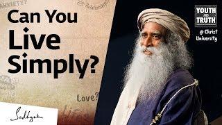 How To Simplify & Declขtter Your Life – Sadhguru