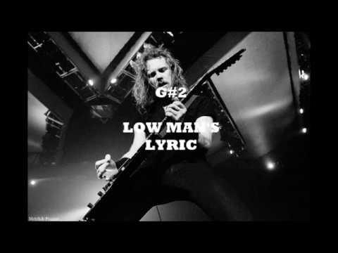 James Hetfield Vocal Range C2-Bb5 (A6)
