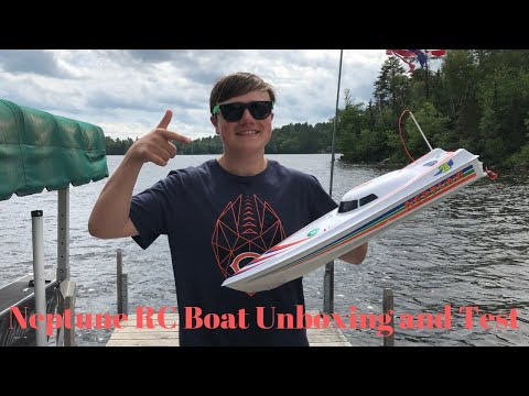 Harbor Freight Neptune RC Boat | Unboxing and Test 2019