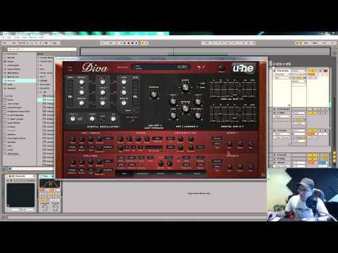 U he diva tutorial analog sounding pulse wave pluck - U he diva ...