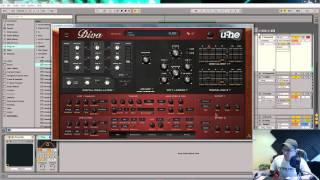 U-He Diva Tutorial - Analog Sounding, Pulse wave Pluck
