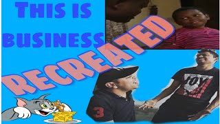 This is Business Funny Scene Recreated | meme material comedy | Tiktok Viral | African Kid spoof