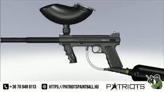 Patriotspaintball- Tippmann 98 paintball marker működése