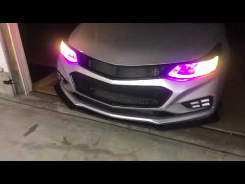 New LED Lights! 2016 Chevy Cruze