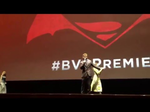 Batman v Superman Premiere at Radio City Music Hall