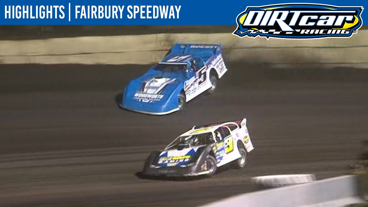DIRTcar Summer Nationals Late Models Fairbury Speedway August 12, 2020 | HIGHLIGHTS