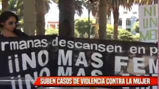 SUBEN CASOS DE VIOLENCIA CONTRA LA MUJER