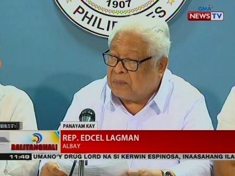 BT: Panayam kay Rep. Edcel Lagman, Albay