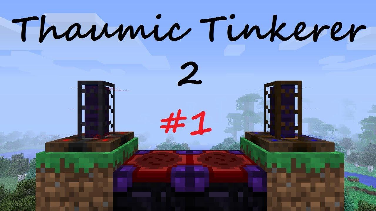 1 6 x] Thaumic Tinkerer v2 1 b62 + KAMI Research Cheat Sheet