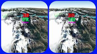 Monte Fitz Roy 3d Vr Video Stereogram Magic Eye Video Tour With Google Earth