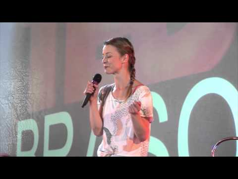 A risky choice: actress or choreographer? | Andrea Gavriliu | TEDxBrașov