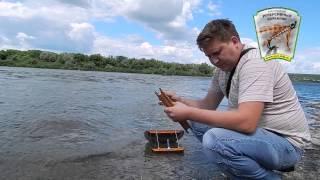 Рыболовный реверсивный кораблик