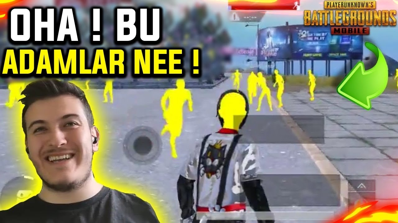 EN KOMİK PUBG MOBİLE TİK TOK HİLELERİ !