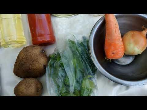 Простые рецепты в походе - Суп с килькой