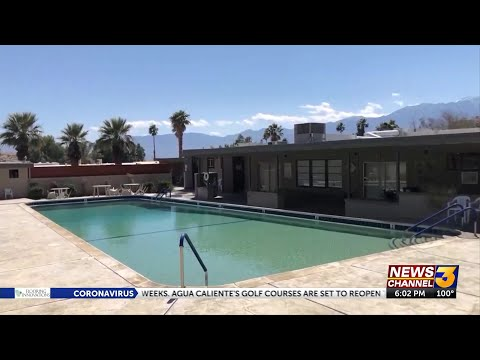 California county allows some swimming pools to reopen amid coronavirus. But only one person at a time is allowed in water.