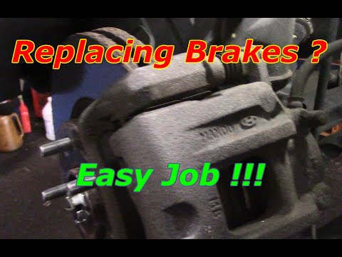 How To Replace Front Brakes And Rotors On A 2012 Hyundai Santa Fe