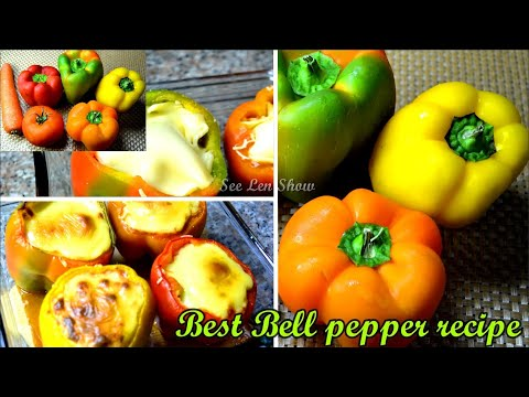how-to-make-easy-stuffed-bell-peppers-/-stuffed-bell-peppers-recipe-/-keto-recipe-ep:037
