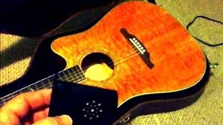 Why and How To Use A Planet Waves Acoustic Guitar Humidifier By Sammy Bones.wmv