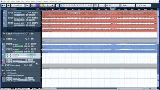 Сведение барабанов и баса  Видео уроки Cubase 5