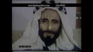 Abu Dhabi Sheik Shakhbut bin Sultan Al Nahyan, 1960