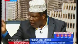 One-on-one with Nairobi Gubernatorial candidate Miguna Miguna