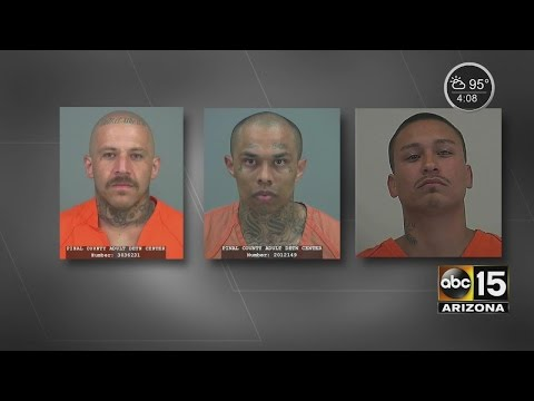Detention officers attacked by inmates at Pinal County jail