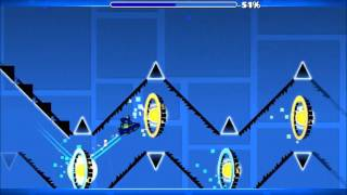 Geometry Dash - Clup Adventure by SpegrNek (All Coins)