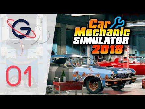 CAR MECHANIC SIMULATOR 2018 FR #1 : Première Réparation !