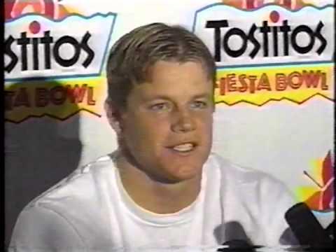 1996 Nebraska vs Florida Fiesta Bowl ESPN Pregame
