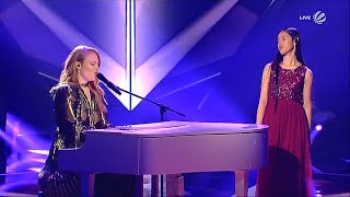 Gambar cover Claudia Emmanuela Santoso & Freya Ridings  - Castles ||  Winner of The Voice 2019 Finals (Germany)