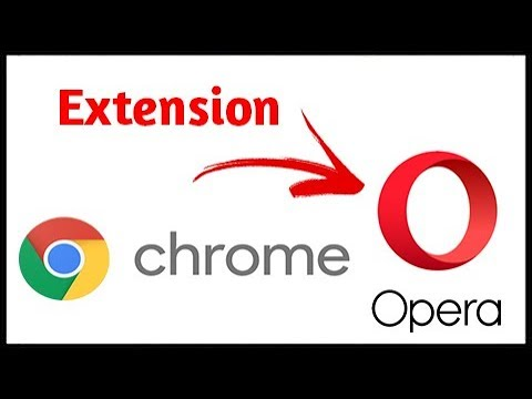 How to Download Chrome Extension in Opera 2017