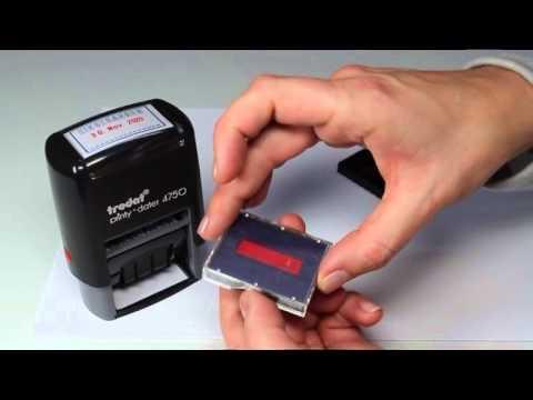 Ink cartridge change Printy (P2)