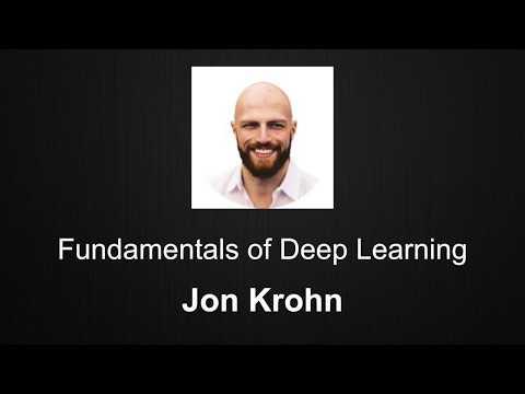 Fundamentals of Deep Learning by Jon Krohn
