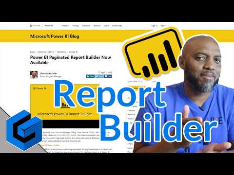 A quick look at the new Power BI Report Builder | Guy in a Cube