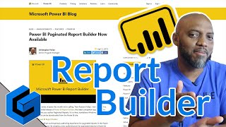 A quick look at the new Power BI Report Builder