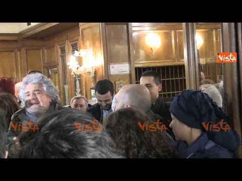 GRILLO: PER IL QUIRINALE TIRANO FUORI NOMI DA FILM DI FANTASCIENZA - M5S Presidente della Repubblica