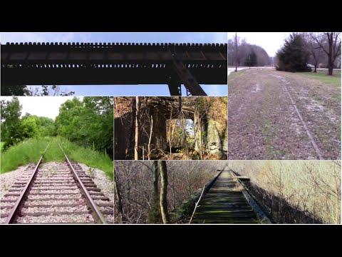 Exploring the Abandoned Monon Railroad ROW in Delphi Indiana