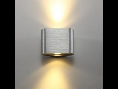 Interior led wall lights contemporary modern designs youtube aloadofball