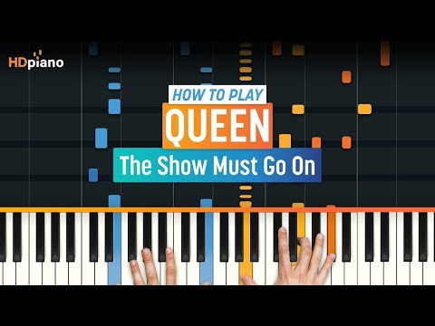 """How To Play """"The Show Must Go On"""" by Queen   HDpiano (Part 1) Piano Tutorial"""