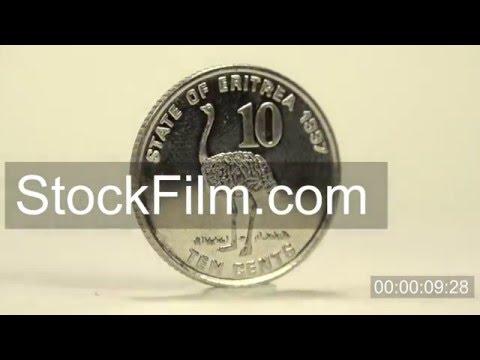 10 cents from the Eritrean Nakfa