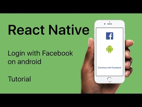 React Native - Login with Facebook on Android