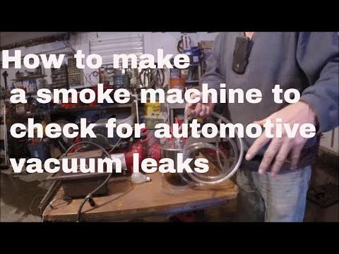 how to build a smoke machine
